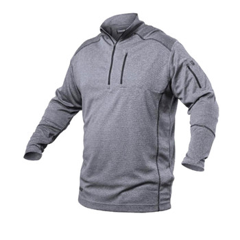 Convoy 1/4 Zip Shirt Steel, UPC :648018030017