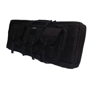 42IN DOUBLE RIFLE CASE - BLACK, UPC :616086525537