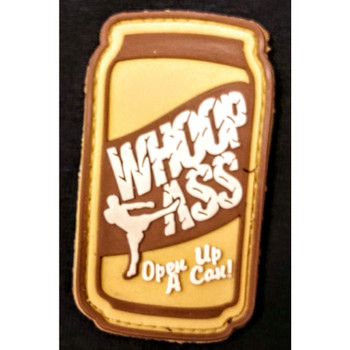 RUBBER MORALE PATCH CAN WHOOP ASS, UPC :616086526527