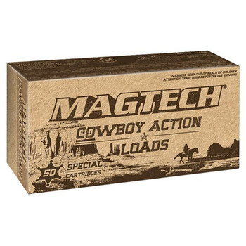 Magtech Cowboy Action Ammunition 44-40 WCF 225 Grain Lead Flat Nose Box of 50, UPC :754908168217