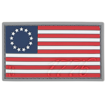 1776 US Flag Patch (Full Color), UPC :846909016847