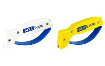 AccuSharp AccuSharp And ShearSharp Combo, Knife And Tool Sharpener, Yellow/White 012C, UPC : 015896000126