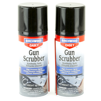 Birchwood Casey Gun Scrubber, Synthetic Safe Cleaner, Aerosol Can, 10oz, Value 6 Pack 33304, UPC : 029057333046