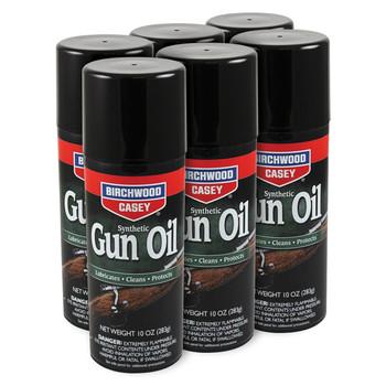 Birchwood Casey Synthetic Gun Oil, Aerosol, 10oz, 6 Pack 44140, UPC : 029057441406