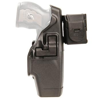 BLACKHAWK! Level 2 Duty SERPA Belt Holster, Fits Taser X-26, Right Hand, Matte Finish, Black 44H015BK-R, UPC :648018107986