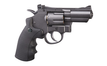 Crosman CO2 Powered Duel Ammo Revolver Pistol, .177 BB, .177 Pellet, Full Metal Body, Double or Single Action, 6-Shot Swing Out Cylinder with Reusable Cartridges, 400 Feet Per Second SNR357, UPC : 028478148666