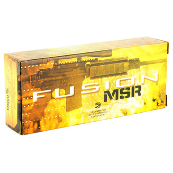 Federal Fusion, MSR, 6.8SPC, 90 Grain Soft Point, 20 Round Box F68MSR2, UPC :604544617016