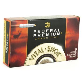 Federal Vital-Shok, 30-06, 180 Grain, Trophy Bonded Tip, 20 Round Box P3006TT1, UPC : 029465099466
