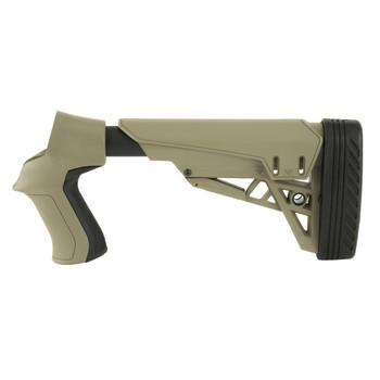 Advanced Technology Shotgun Stock, Fits Mossberg/Winchester/Remington 12 Gauge, Adjustable, Side-Folding, X2 Recoil Reducing Butt-Pad, Flat Dark Earth B.1.20.2007, UPC :815511020436