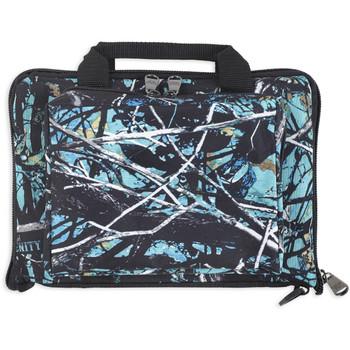 Bulldog Cases Mini, Range Bag, Blk/ Serenity Camo, Nylon, Small BD915SRN, UPC :672352011456