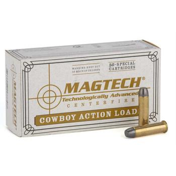 Magtech Cowboy, 45LC, 250 Grain, Lead Flat Nose, 50 Round Box 45D, UPC :754908168316