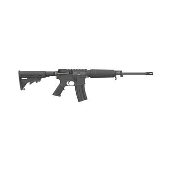 "Bushmaster Quick Response Carbine, Semi-Automatic Rifle, 223Rem/556NATO, 16"" Barrel, 1:8 Twist, Black Finish, 6 Position Collapsible Stock, Optic Ready, 30Rd, A2 Flash Hider 91048, UPC :604206910486"
