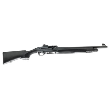 "Beretta 1301 Tactical, Semi-automatic, 12Ga, 18.5"" Barrel, Black Finish, Synthetic Stock, Fixed Cylinder, 4Rd, Ghost Ring Sight J131T18C, UPC : 082442894126"