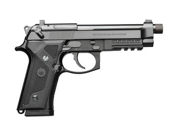 Beretta M9A3, Semi-automatic, Full, 9MM, 5.2, Alloy, Black, 17Rd, 3 Mags, Ambidextrous, Tritium Night Sights J92M9A3GM0, UPC : 082442894706