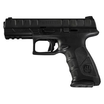 "Beretta APX, Semi-automatic, Striker Fired, Compact, 9MM, 3.7"", Polymer, Black, 13Rd, 2 Mags, Picatinny Rail, 3 Dot JAXC921, UPC : 082442894256"