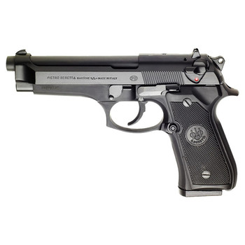 "Beretta 92FS, Double Action Pistol, Full Size, 9MM, 4.9"" Barrel, Alloy Frame, Blue Finish, Plastic Grips, 3 Dot Sights, Ambidextrous Safety, 2 Magazines, 15Rd JS92F300M, UPC : 082442818986"
