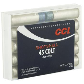 CCI/Speer Shotshell, 45LC, 150 Grain, Shotshell, #9 Shot Size, 10 Round Box 3746, UPC : 076683037466