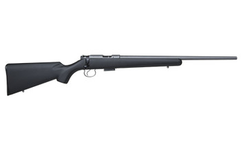 """CZ 455 American, Bolt Action, 22LR, 20.5"""" Hammer Forged Barrel, Stainless Finish, Synthetic Stock, 5Rd 02112, UPC :806703021126"""