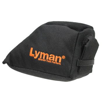 Lyman Universal Bag Rest, Filled, Black, Standard Size, Used to Raise or Lower the Buttstock of your Rifle To Correct your Point of Aim 7837800, UPC : 011516578006