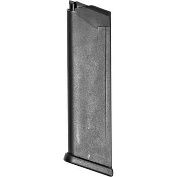 Glock OEM Magazine, 45ACP, 10Rd, Fits GLOCK 37, Cardboard Style Packaging, Black Finish 3710, UPC :764503370106