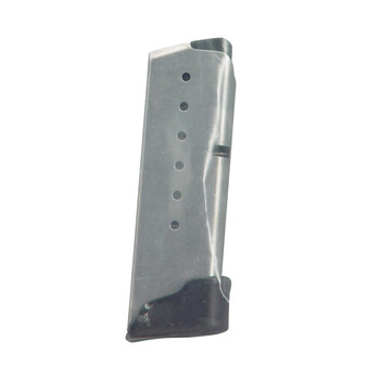 Kahr Arms Magazine, 9MM, 7Rd, Fits MK9, Grip Extension, Stainless Finish MK720, UPC :602686060226