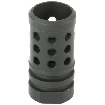 Angstadt Arms Flash Hider, 9MM, 4041 Hardened Steel with Black Nitride Finish, 1/2X36 TPI AA09FLASHS, UPC :867114000186