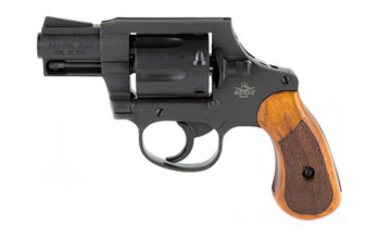 """Armscor M206 Spurless, Revolver, Double Action, 38 Special, 2"""" Barrel, Alloy Frame, Parkerized Finish, Wood Grips, Right Hand, Fixed Sights, 6 Rounds 51280, UPC :4806015512806"""