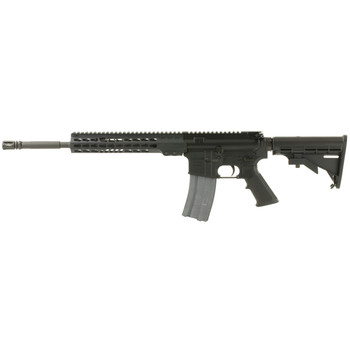 "Armalite M-15 Light Tactical Carbine, Semi-automatic Rifle, 223 Rem/556NATO, 16"" Chrome Lined Barrel, 1:7 Twist, Black Finish, 6 Position Collapsible Stock, 30Rd, 10"" Aluminum KeyMod Handguard, 1-30Rd Magazine M15LTC16, UPC :651984018026"