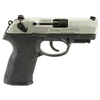 """Beretta PX4 Storm, Semi-automatic, 9MM, 3.2"""" Barrel, Polymer Frame, INOX Finish, 15Rd, 2 Mags, Picatinny Rail JXC9F51, UPC : 082442734446"""