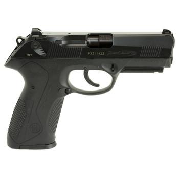 "Beretta PX4 Storm, Semi-automatic, Double Action, Full Size Pistol, 9MM, 4"" Barrel, Polymer Frame, Black Finish, 10Rd, 2 Mags, Picatinny Rail, Ambidextrous, 3 Dot Sights JXF9F20, UPC : 082442817286"