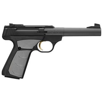 "Browning Buck Mark, Camper, Semi-automatic, 22LR, 5.5"" Bull Barrel, Aluminum Frame, Black Finish, UFX Grip, 10Rd 051498490, UPC : 023614043386"