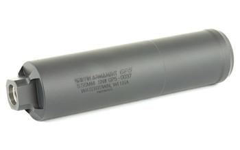 "Griffin Armament GP5 (General Purpose), Suppressor, 6.25"", 556NATO, 17-4PH Stainless Steel, Black Finish, 12.9oz, Direct Thread GAGP5, UPC :791154080986"