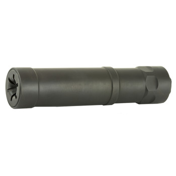 """Griffin Armament Optimus Micro, Suppressor, 5.3"""", 22LR, 17-4PH Stainless Steel, Black Finish, Includes Direct Thread Mount 1/2x28, 8.5oz GAOPM, UPC :791154083116"""