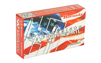Hornady American Whitetail, 308 Win, 165 Grain, InterLock, 20 Round Box 80904, UPC : 090255809046