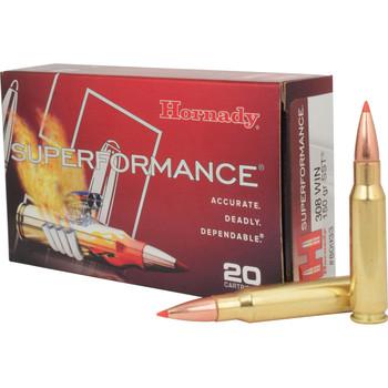 Hornady Superformance 308WIN, 150 Grain, SST, 20 Round Box 80933, UPC : 090255809336