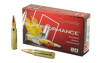 Hornady SuperFormance, 308WIN, 165 Grain, GMX, Lead Free, 20 Round Box 8099, UPC : 090255380996