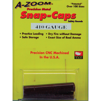 A-Zoom Snap Caps, 410Ga, 2 Pack 12215, UPC :666692122156