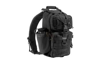 "Maxpedition Gearslinger Sitka Backpack, 15""x8""x3"", Black 0431B, UPC :846909004776"
