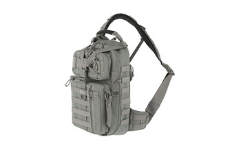 """Maxpedition Gearslinger Sitka Backpack, 15""""x8""""x3"""", Foliage Green 0431F, UPC :846909004806"""