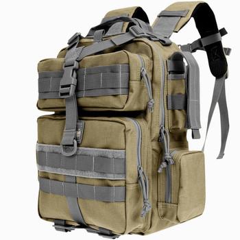 "Maxpedition Typhoon Backpack, 13""x9.5""x4.5"", Khaki and Foliage Green 0529KF, UPC :846909009016"