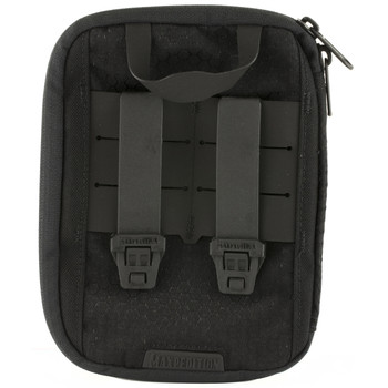 Maxpedition ERZ Everyday Organizer, Custom Molded, Has Multiple Pockets, Elastic Loops and Key Clip, Black ERZBLK, UPC :846909021186