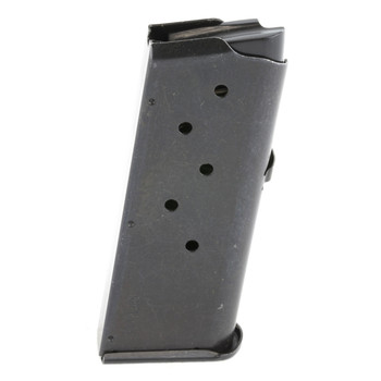 Remington 0agazine, 380ACP, 6Rd, Fits Remington RM380, w/Finger Extension Optional Base Plate, Black Finish 17679, UPC : 047700176796
