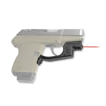 Crimson Trace Corporation Defender LaserGrip, Fits Compact Kel-Tec P32/P3AT, Black, Front Activated LG-430, UPC :610242000036