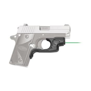 Crimson Trace Corporation Laserguard, Green Laser, Fits Sig P238/P938, Black Finish, Front Activated LG-492G, UPC :610242006656