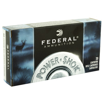 Federal PowerShok, 300WIN, 150 Grain, Soft Point, 20 Round Box 300WGS, UPC : 029465091446