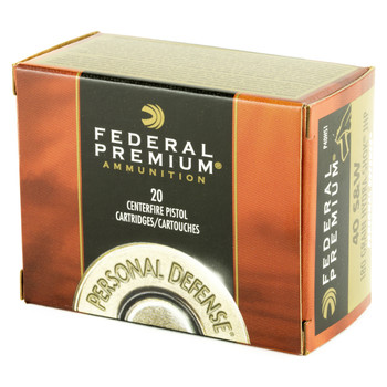 Federal Hydra-Shok, 40S&W, 180 Grain, Hollow Point, 20 Round Box P40HS1, UPC : 029465088606