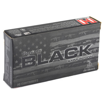 Hornady BLACK, 5.45x39, 60 Grain, V-Max, Steel Case, 20 Round Box 81246, UPC : 090255812466