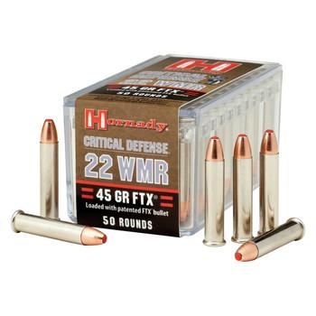 Hornady Hunting, 22WMR, 45 Grain, FTX, 50 Round Box 83200, UPC : 090255832006