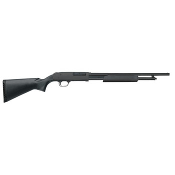 "Mossberg 500, Security, Pump, 410Ga 3"", 18.5"", Black, Synthetic, Cyl, 3"", 5Rd, Bead 50454, UPC : 015813504546"