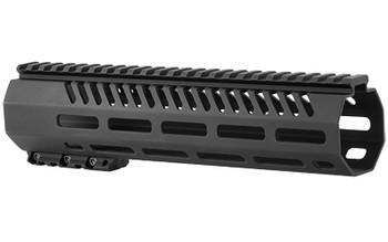"""Mission First Tactical Tekko, MLOK Rail System, Fits AR Rifles, 10"""", Free Float, Metal, Black Finish TMARFF10MRS, UPC :814002020856"""